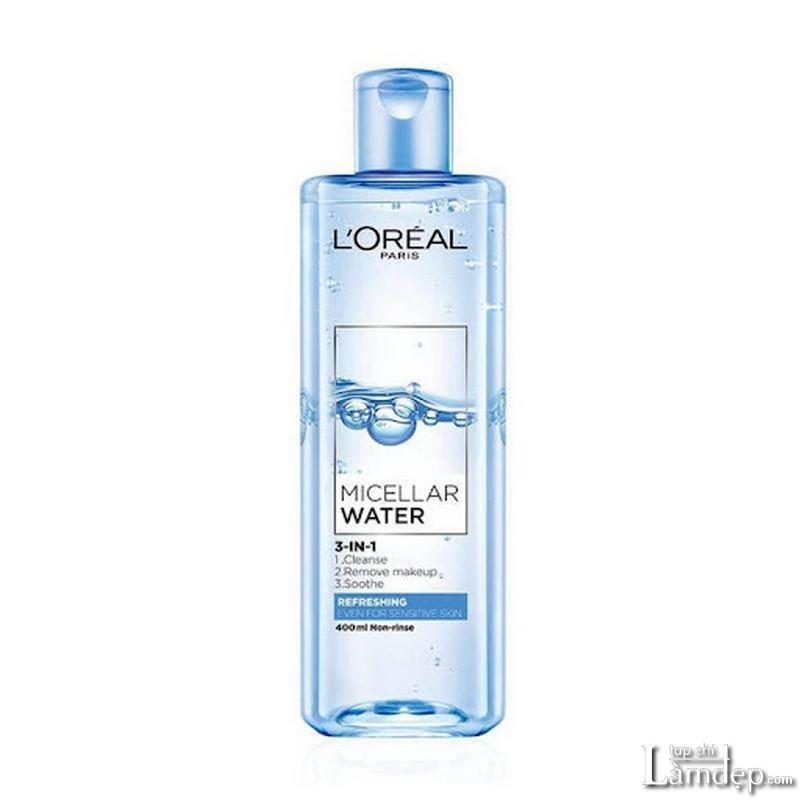 Nước tẩy trang L'Oreal cho da nhạy cảm