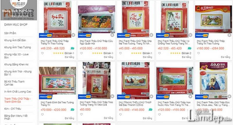 Shop Khung Tranh PQ-PQ Art & Frames